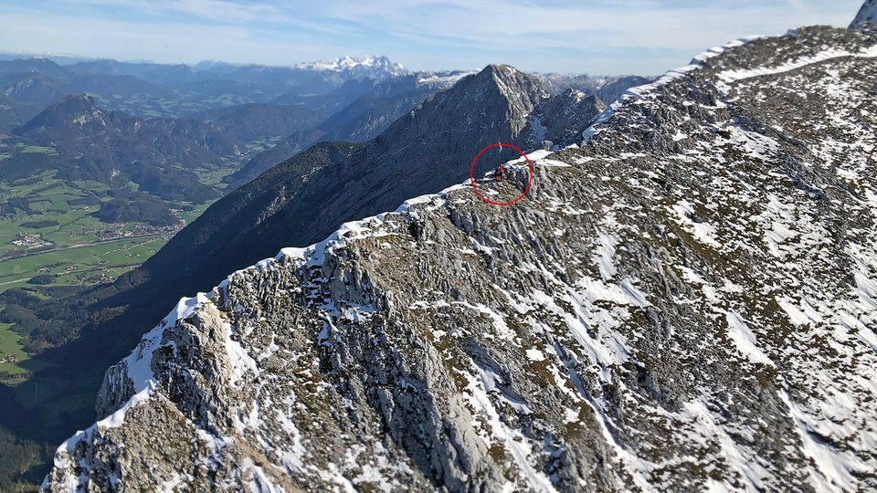 Die beiden Urlauber waren in den Berchtesgadener Alpen in Not geraten
