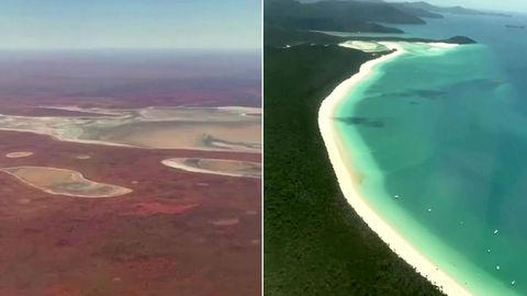 Australien:  'Flug nach Nirgendwo' trotz heftiger Kritik