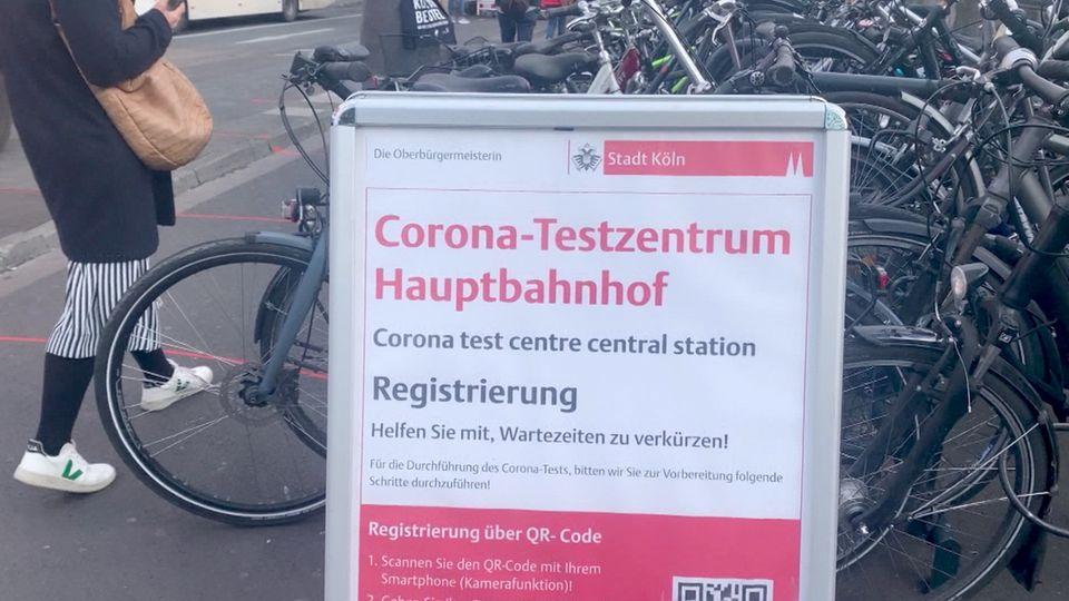 Corona Testzentrum