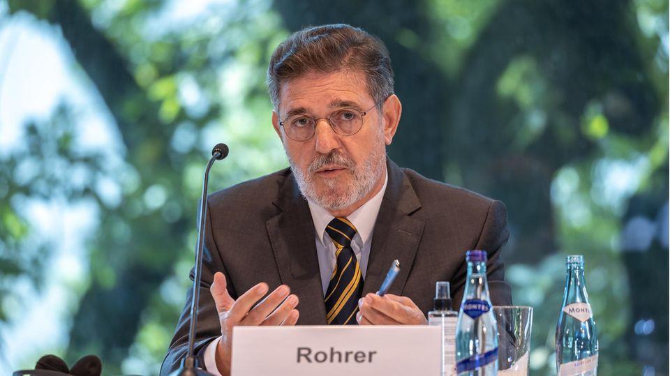Ronald Rohrer, Leiter der unabhängigen Expertenkommission