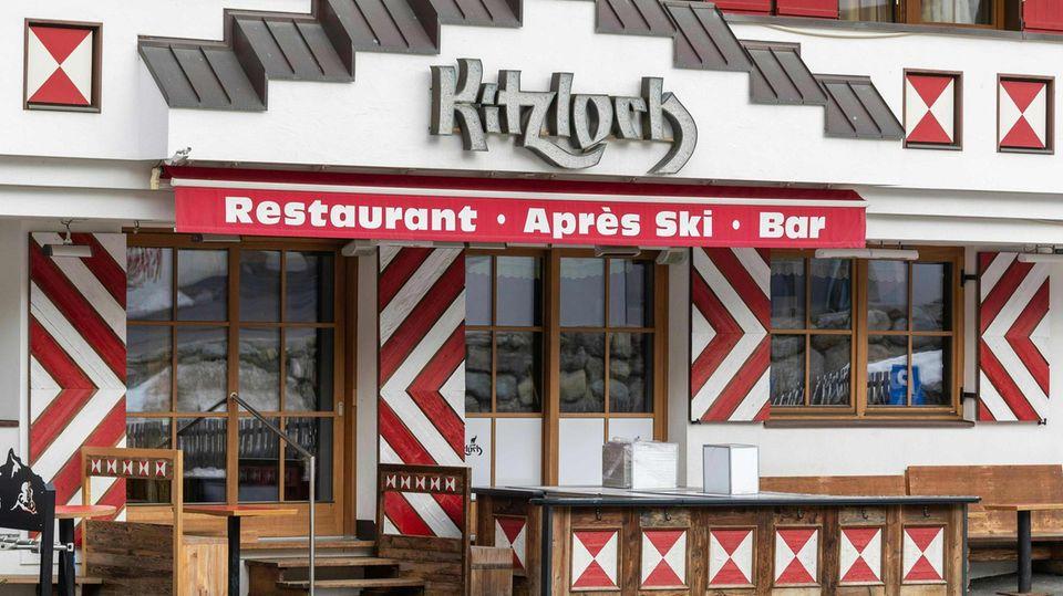 """Après-Ski-Lokal """"Kitzloch"""" in Ischgl"""