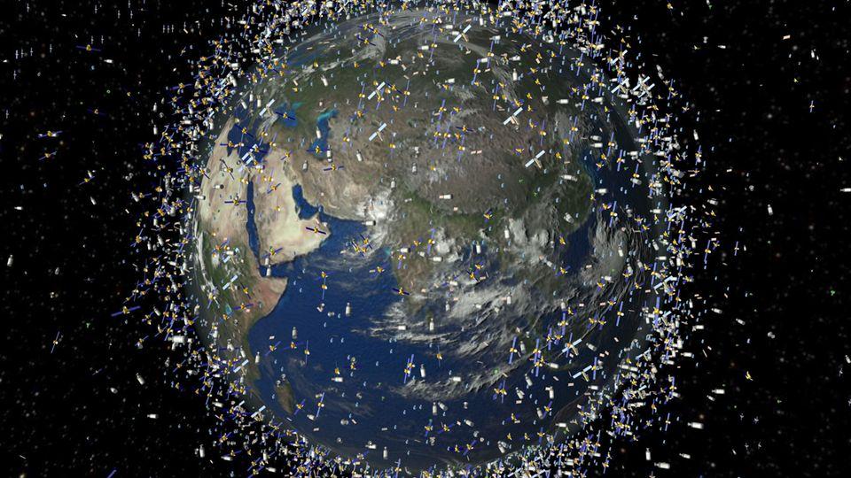 Weltraumschrott umschwirrt die Erde