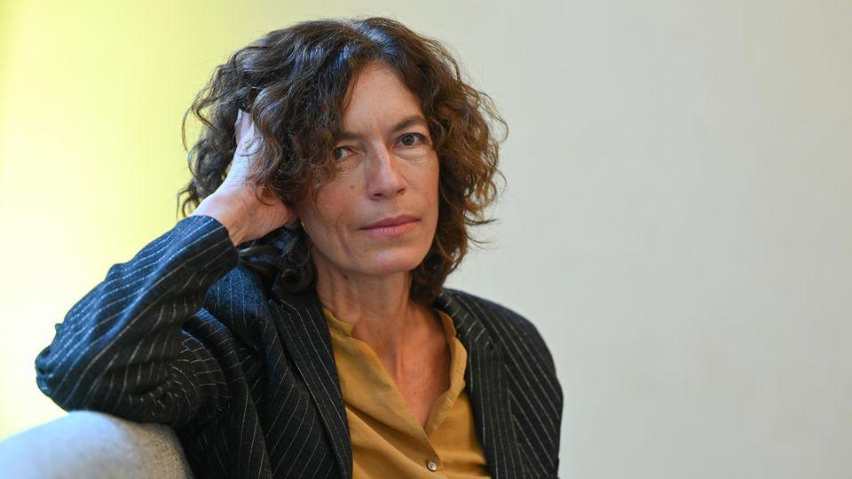 Die Autorin Anne Weber