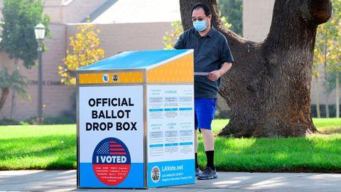 US-Wahl Ballot Box