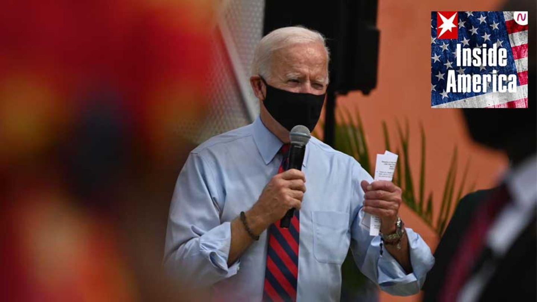 Joe Biden beim Wahlkampf in Little Haiti