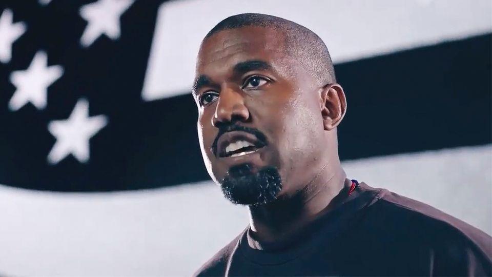 Kanye West veröffentlicht ersten Wahlwerbespot