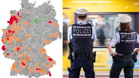 Negativrekord erneut geknackt: 40 Corona-Hotspots in Deutschland