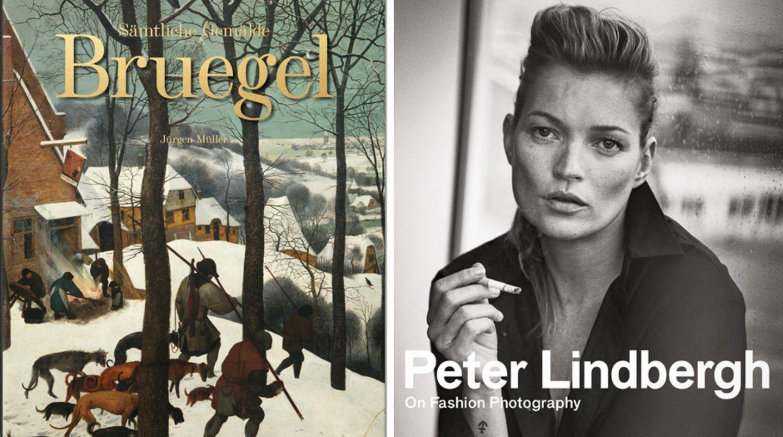 Zwei Cover des Taschen Verlags