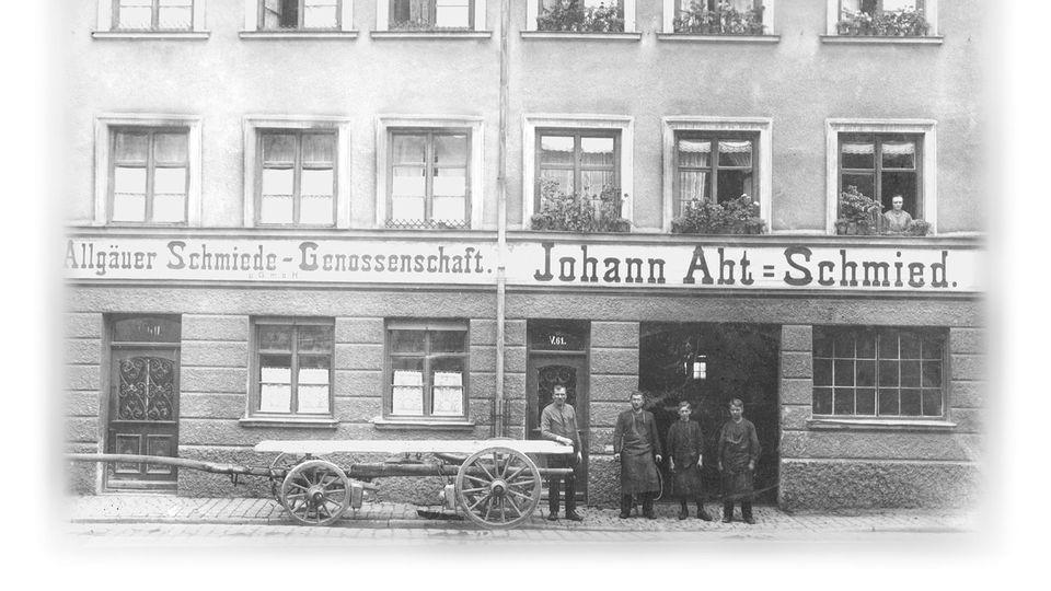 Schmiede Johann Abt