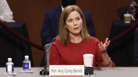 Amy Coney Barrett,die Kandidatin von US-Präsident Donald Trump für den Obersten Gerichtshof