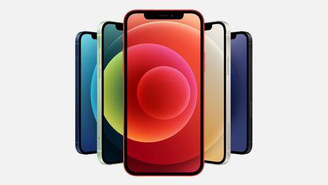 Das iPhone 12 ist in fünf Farben erhältlich