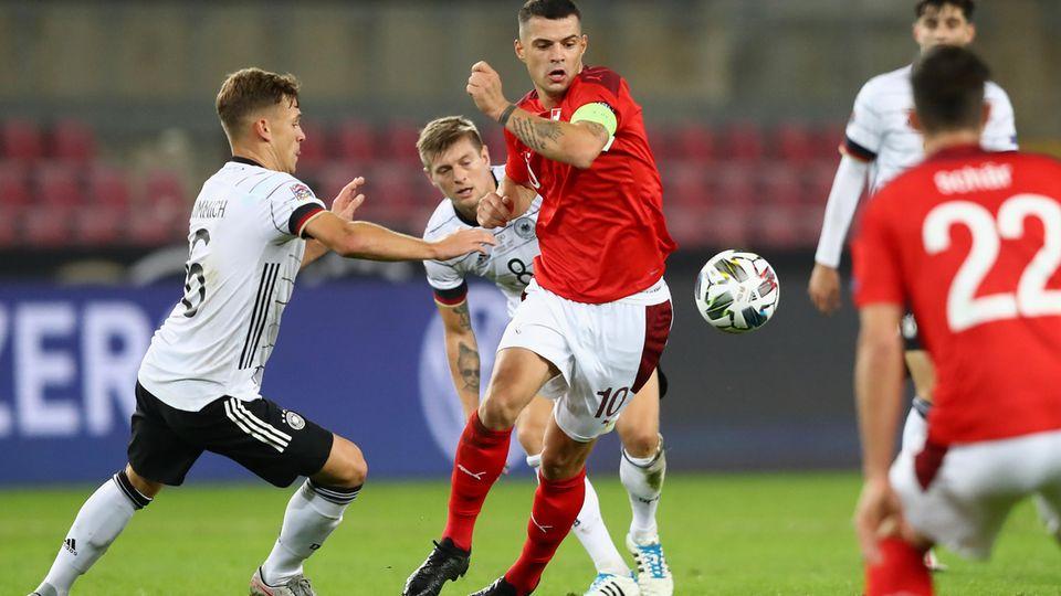 Umkämpftes Spiel zwischen Deutschland und der Schweiz