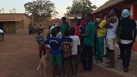 Katrin Rohde begann ihre Arbeit Ouagadougou mit kriminellen Straßenjungen.