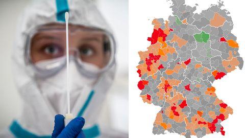 Übersicht der Neuinfektionen