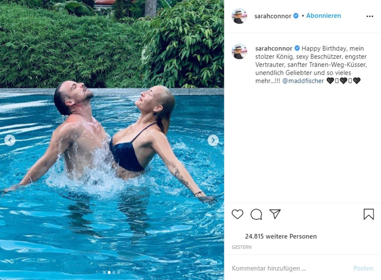 Vip-News: So süß gratuliert Sarah Connor ihrem Mann zum Geburtstag