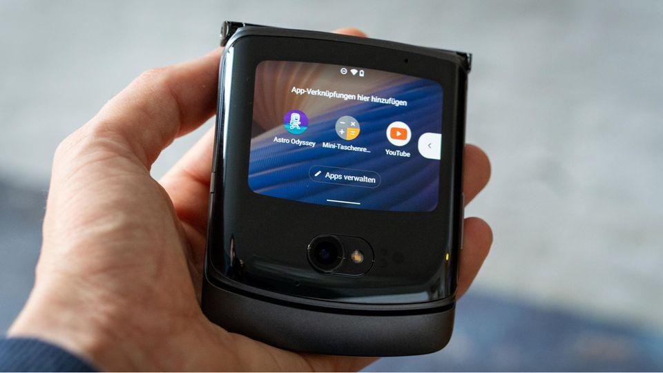 Foldable: Motorola Razr 5G im Test: Klappe, die zweite