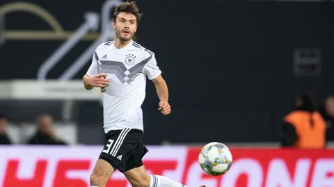 Jonas Hector im Nationaltrikot