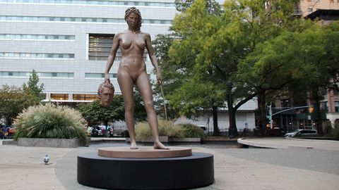 Frauenstatuen in New York sorgen für Diskussionen