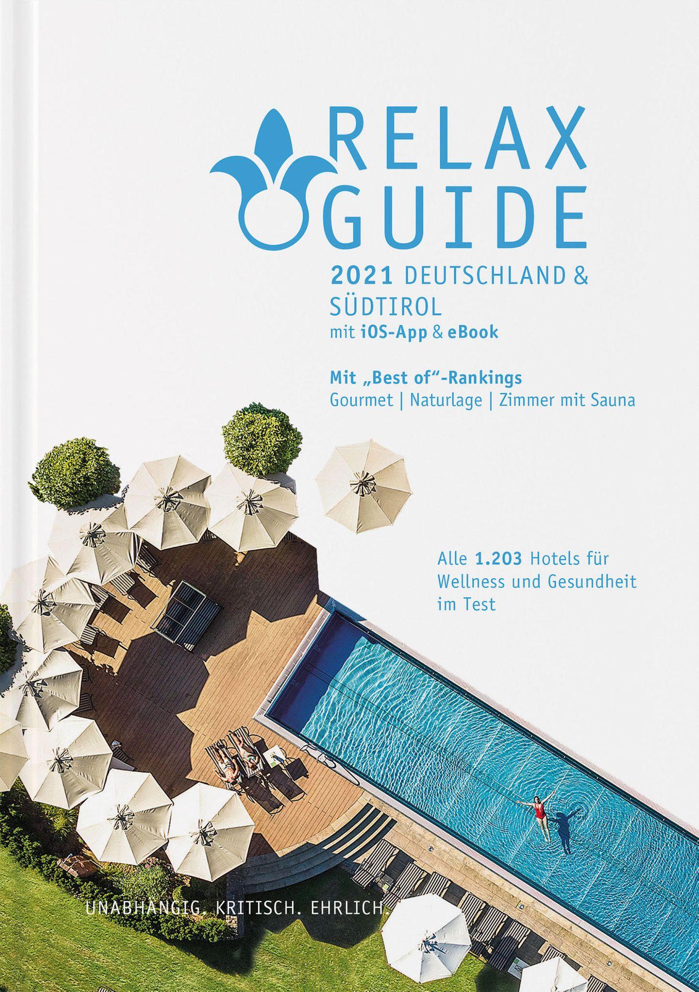"""Übernommen aus: """"Relax Guide 2021Deutschland &Südtirol"""", Preis 26,90 Euro. Als Ergänzung auch als Scan-App für iOS imiTunes Storeerhältlich."""