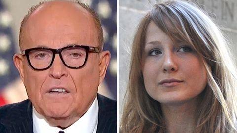 Kombo: Rudy und Caroline Giuliani