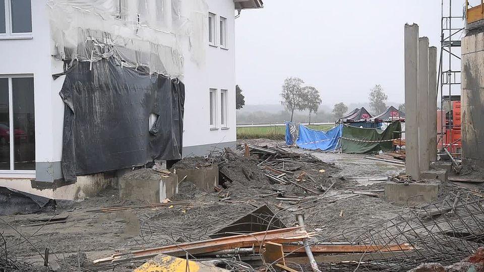 Oberbayern: Vier Tote bei Unfall auf Baustelle