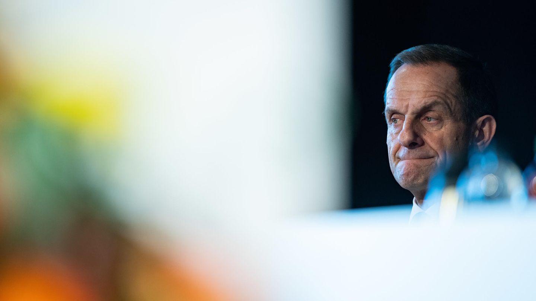 DOSB-Präsident Alfons Hörmann mit sorgenvoller Miene