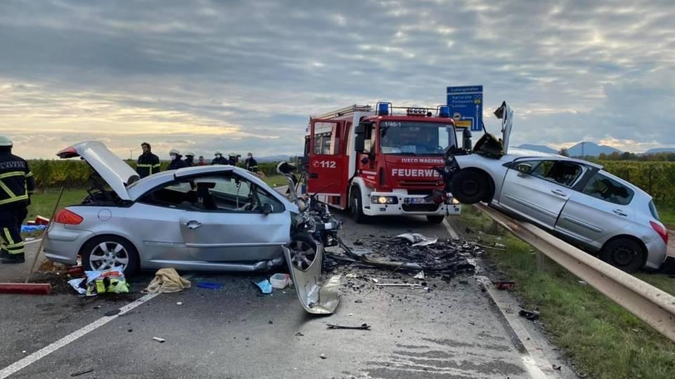 Nachrichten aus Deutschland – Frau und Hund sterben bei schweren Verkehrsunfall