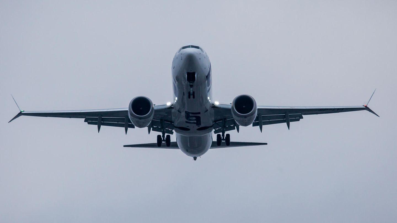 Eine Boeing 737 Max in der Luft