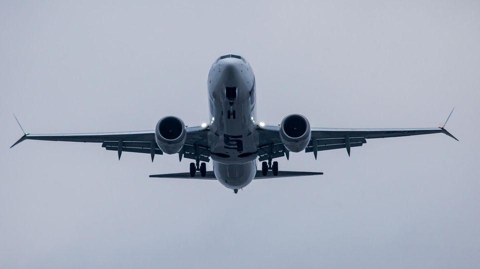 Die Boeing 737 Max gehört auch zur Flotte der polnischen LOT