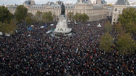 atz der Republik in Paris