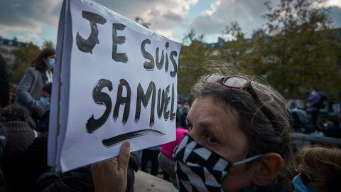 Protest gegen Angriff auf Meinungsfreiheit in Frankreich