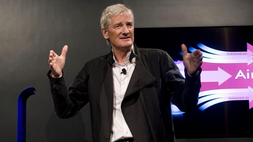 Erfinder James Dyson, hier auf einem Foto aus dem Jahr 2011