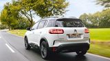 Der Citroën C5 Aircross Hybrid wiegt 1.942 Kilogramm
