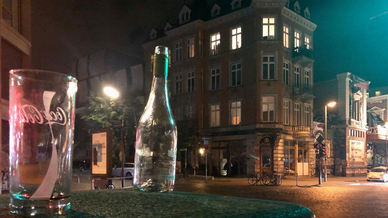 Das Schanzenviertel nach der Sperrstunde: Die letzten Überbleibsel einer kurzen Partynacht