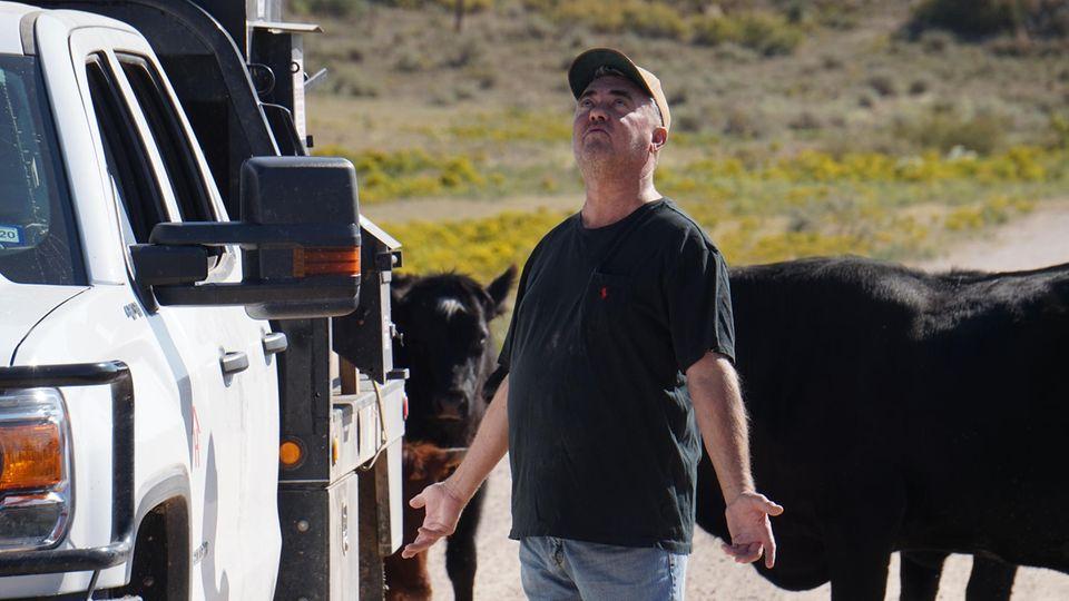 Brett Hall auf seiner Ranch