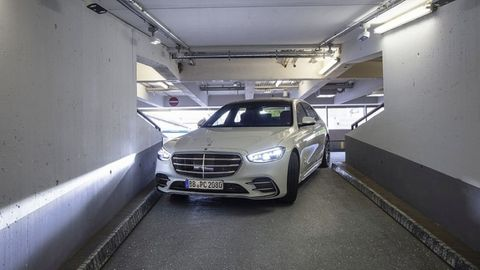 Mercedes S-Klasse autonomes Valet Parking