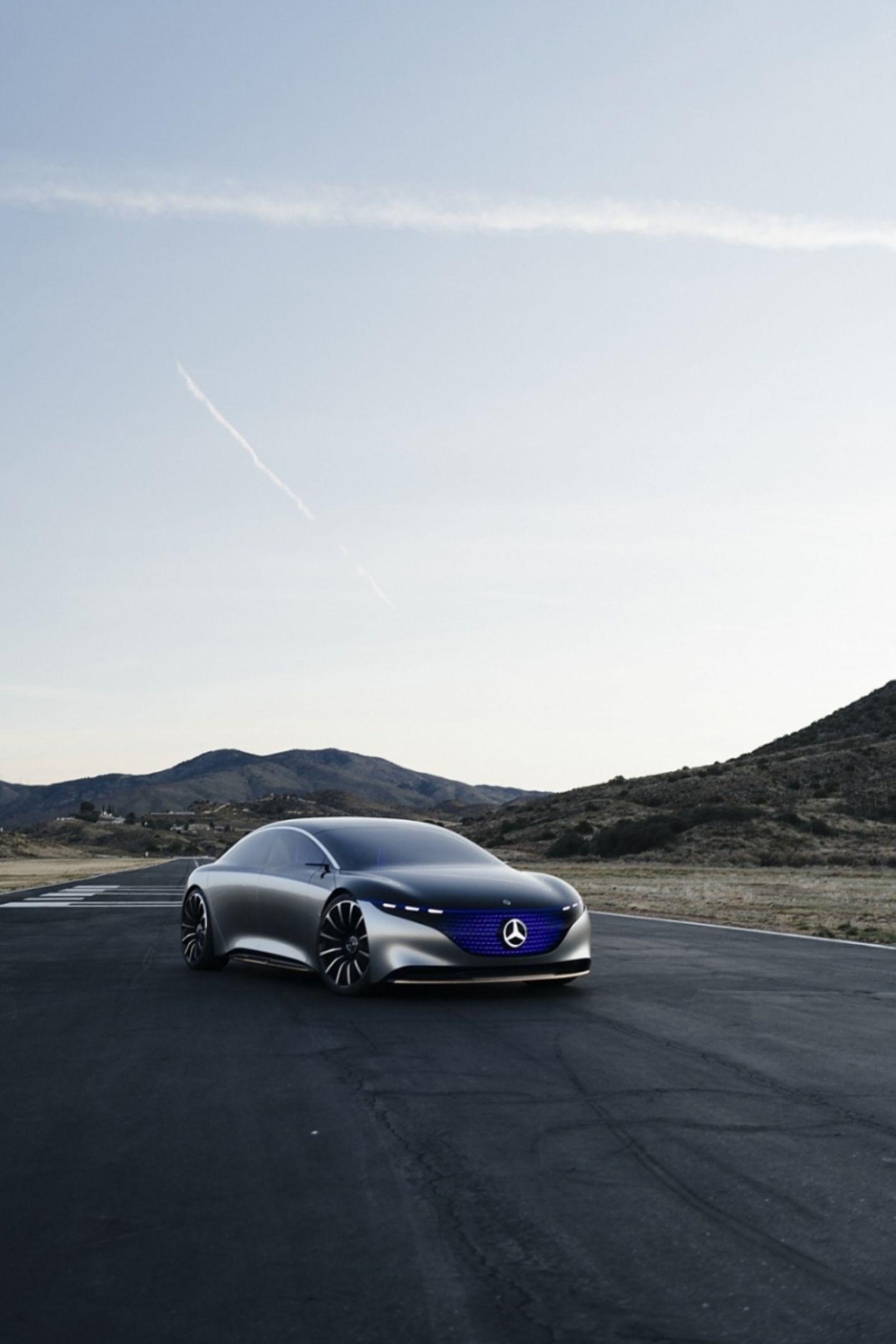 Der Mercedes EQS soll vor allem in den USA und China für Umsätze sorgen