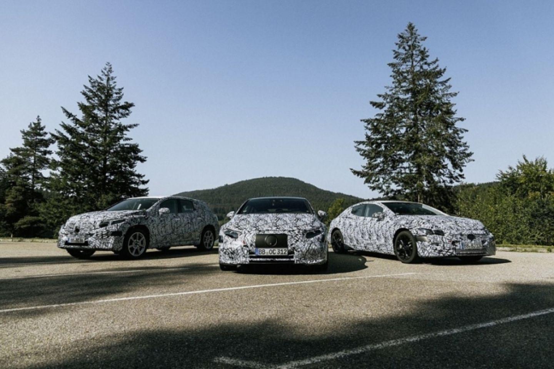 Die Mercedes EQS Flotte wird auf der Eva II Plattform (Modulare Elektro Architektur MEA) basieren