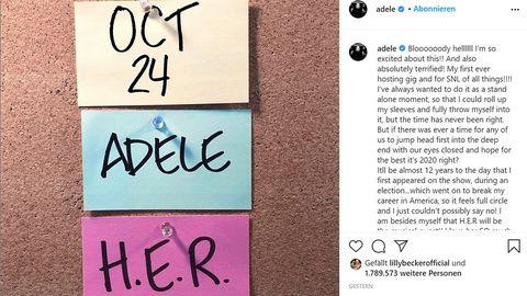 Comeback angekündigt: Dieses Instagram-Posting lässt Fans von Adele ausflippen