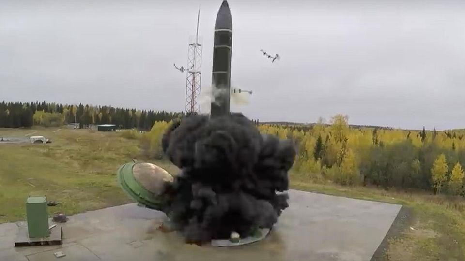 """Die russische """"Avangard""""-Hyperschallrakete"""