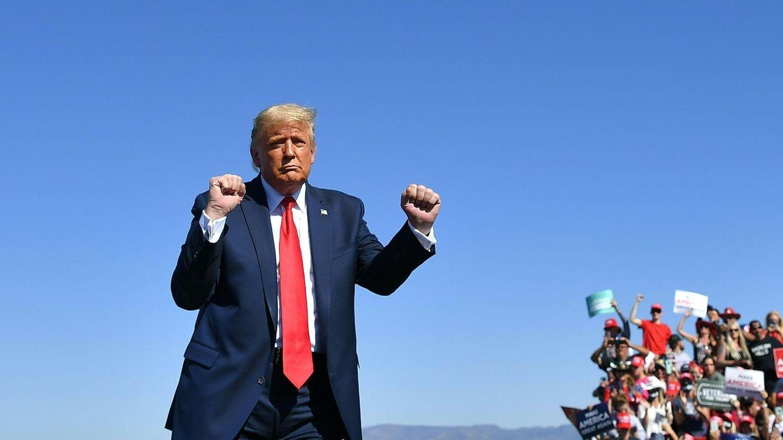 Trump auf einer Wahlkampfveranstaltung in Prescott, Arizona
