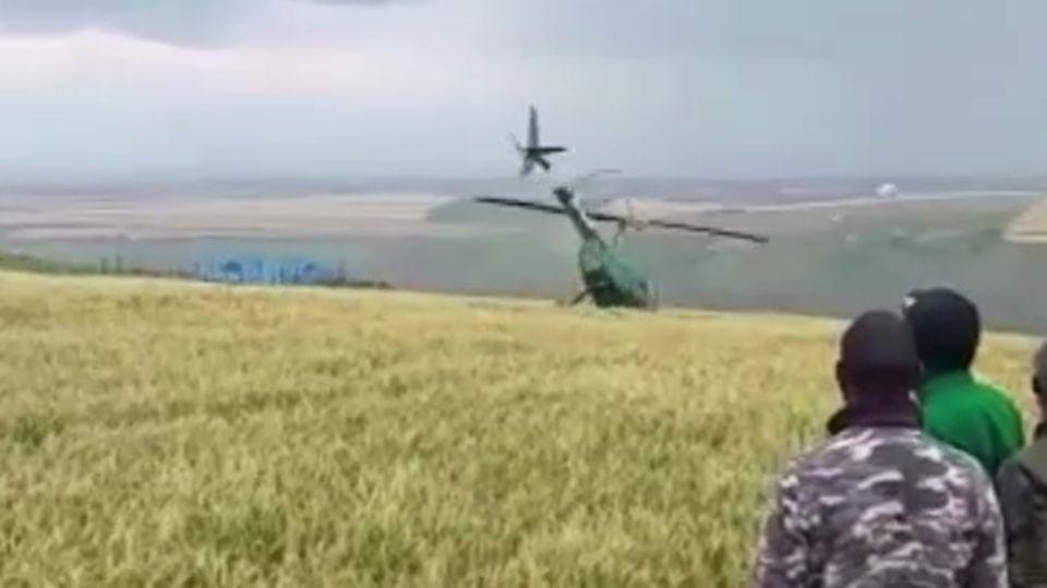 Helikopterabsturz in Kenia