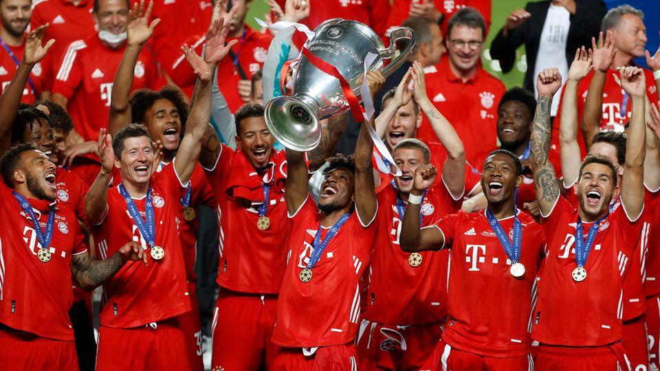 Topfavorit und Titelverteidiger: der FC Bayern