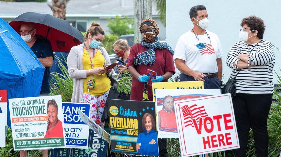 Wahlkampf in den USA: Fair und frei? Nicht in den USA. Wie die Republikaner systematisch die Stimmabgabe erschweren