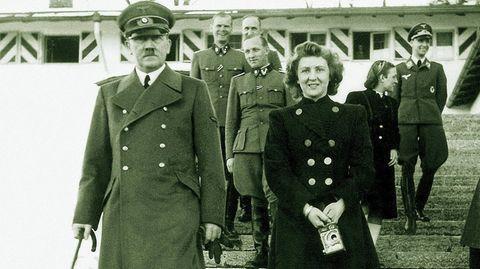 Eva Braun und Adolf Hitler