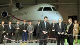 Platz 13:PrinzAlbert II von Monaco  Einweihung des eigenen Hangars für seinen Privathet im Jahre 2013 in Nizza: Das Oberhaupt der Familie Grimaldi nennt einen Jet vom TypDassault Falcon 7X sein eigen und hatKosten von 1.050.00 US-Dollar im Jahr.