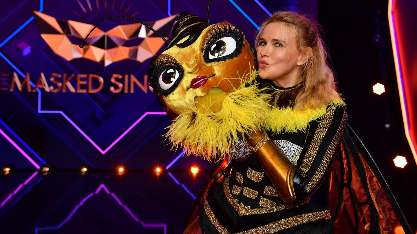 "Veronica Ferres bei ""The Masked Singer"""