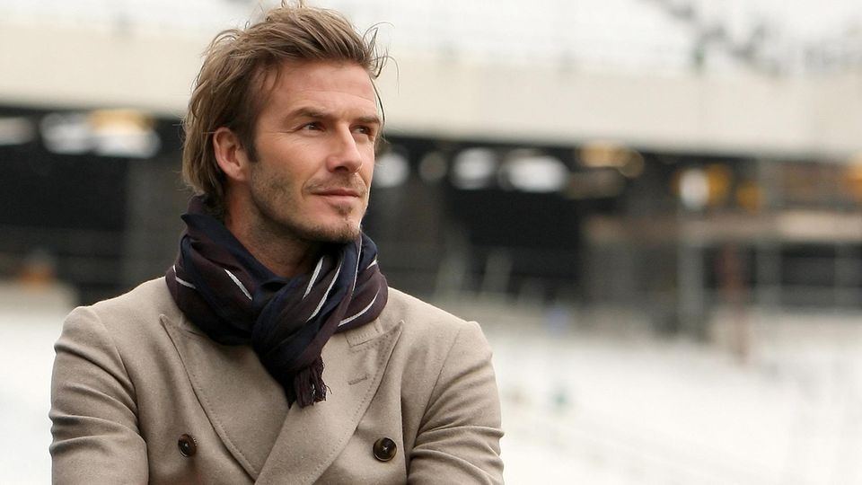 David Beckham im Mai 2020 in London