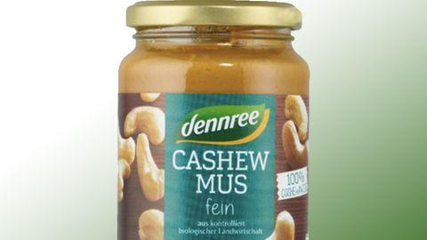 Rückrufe und Produktwarnungen: Bio-Cashewmus von Denree zurückgerufen