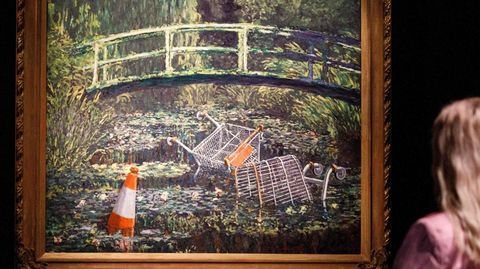 Nottingham: Neues Kunstwerk aufgetaucht: Banksy gibt Englands Corona-Hotspot etwas Hoffnung